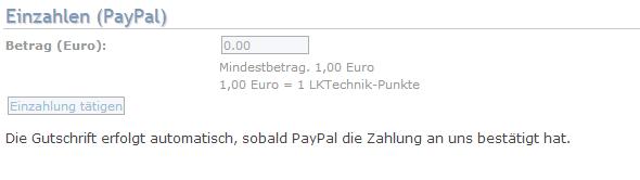 paypal konto limitierung